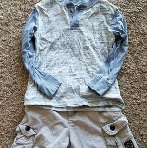 Other - Long T top & cargo shorts NWOT